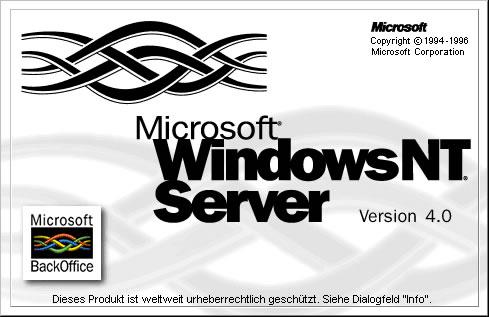 Windows NT Server, Version 4.0