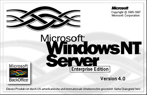 Windows NT Enterprise Server, Version 4.0