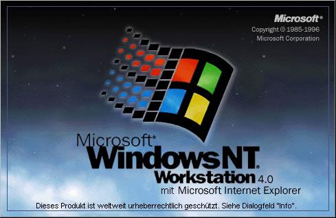 Windows NT Workstation, Version 4.0